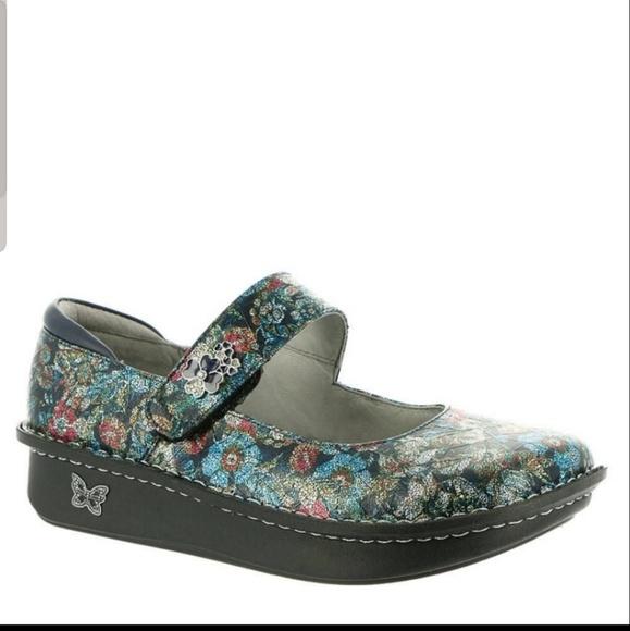 Alegria Shoes - Alegria Paloma Mary Jane Shoes in Flora Nova